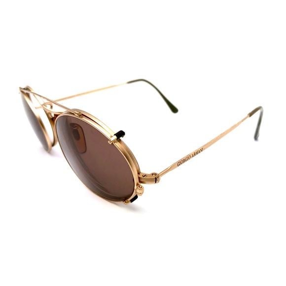527f402f7d04 Giorgio Armani Other - Matte Gold Tone Glasses By Giorgio Armani